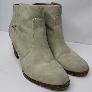 Sam Edelman Circus Taupe Ankle Booties Boots